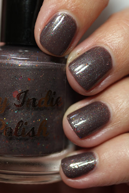 My Indie Polish Kiss Me, It's Halloween swatch