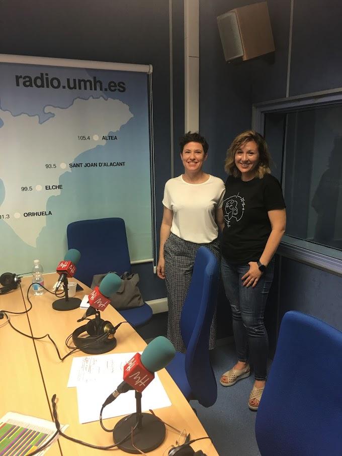 RADIO UMH estrena programa con Mujeres Ingenieras y su entrevista a María Amorós