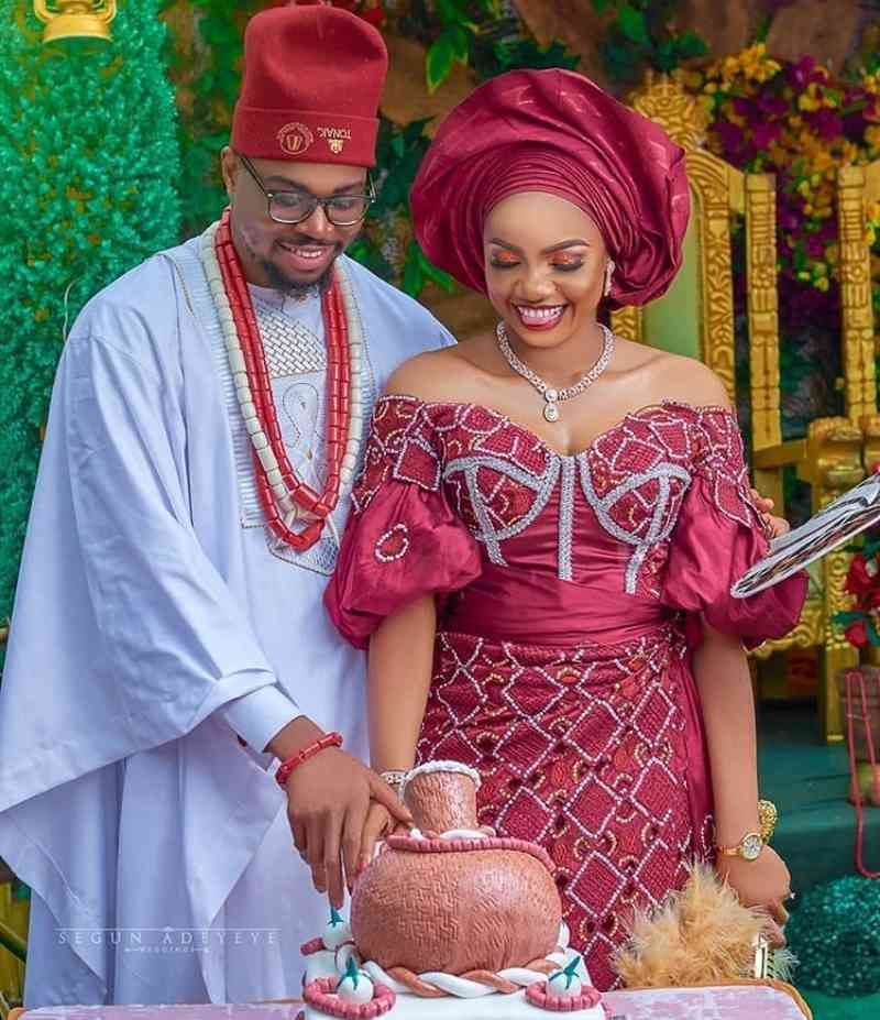 2020 Latest Igbo Traditional Wedding Attire For Bride and Groom