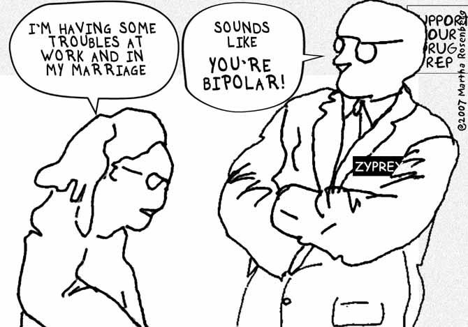 Bipolar Planet: Comix, Meds & Martha Rosenberg