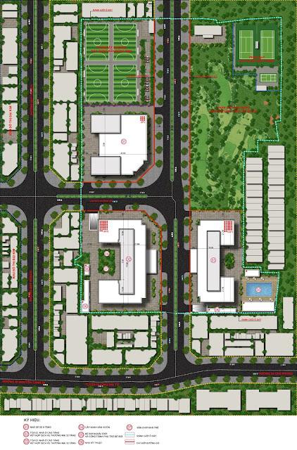 Mặt bằng quy hoạch xây dựng ECO LAKE VIEW