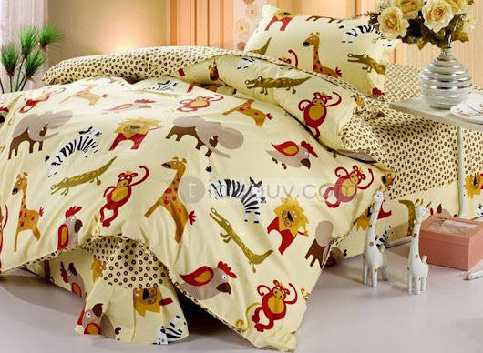Popular Tidebuy cute Christmas Kids Bedding sets for my children