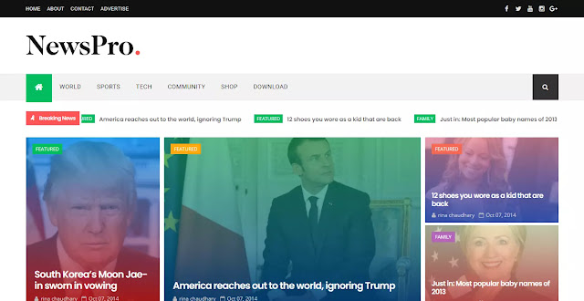 NewsPro Blogger Template Download, download premimum template 2021, SEO boost templates,free and premium blogger template,free blogger templates