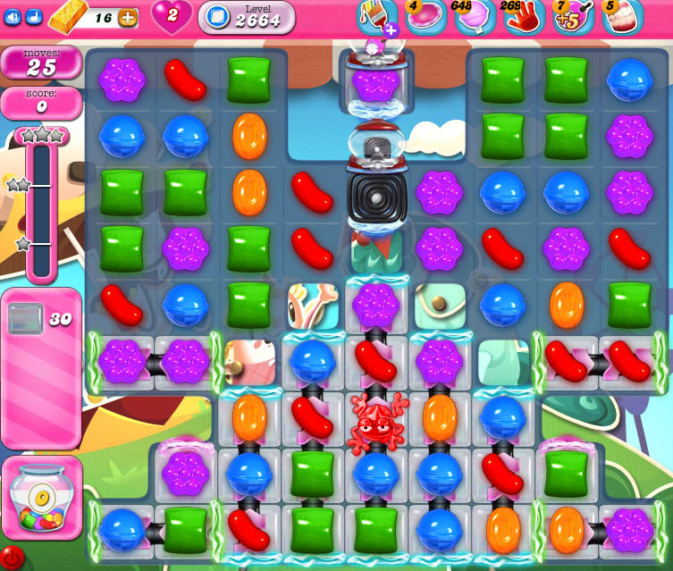 Candy Crush Saga level 2664
