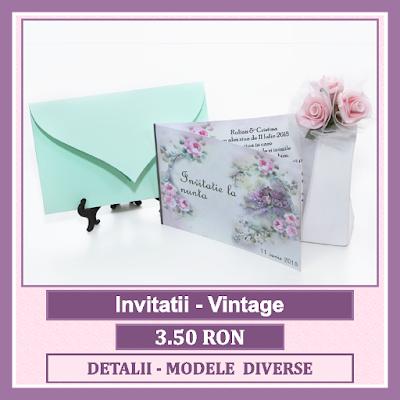 http://www.bebestudio11.com/2018/01/invitatii-nunta-vintage.html