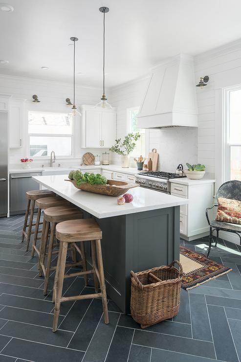Amazing space-saving small kitchen island design