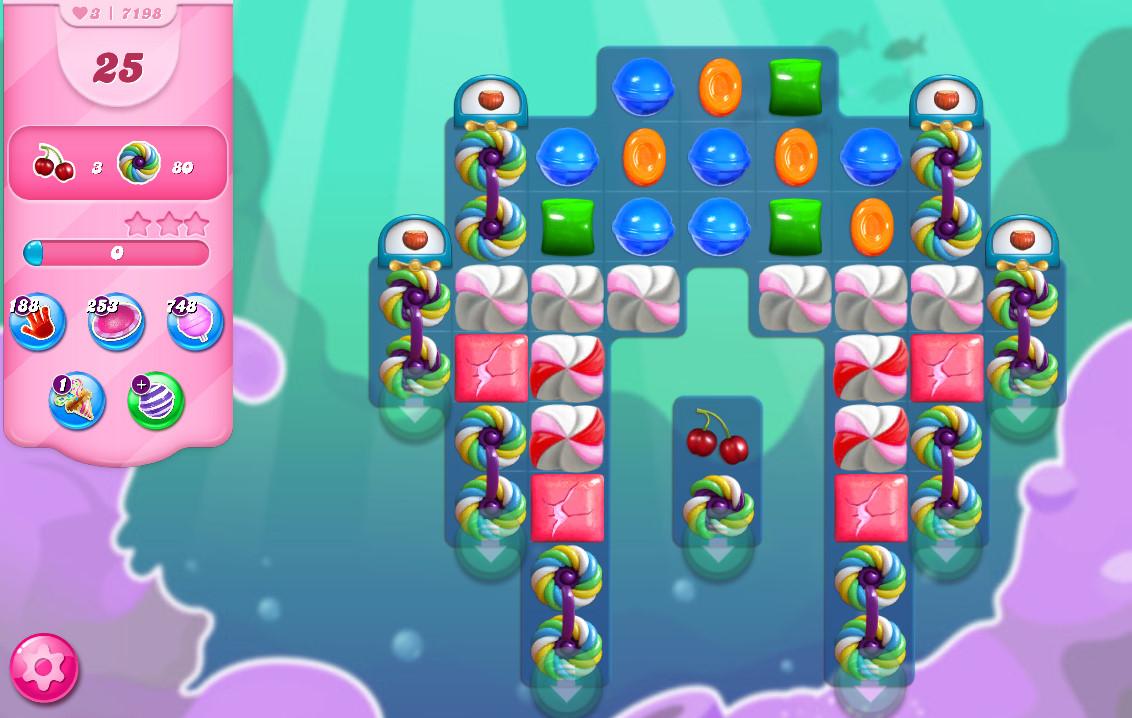 Candy Crush Saga level 7198