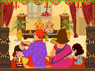 Happy Diwali 2016 images kids 4