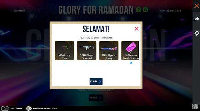Hadiah Faksi Glory For Ramadhan