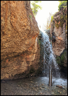 Payson Grotto Waterfall Base