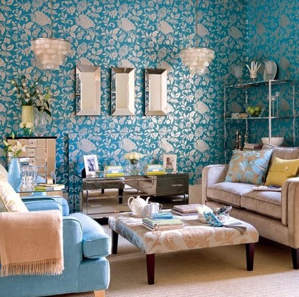 50 Contoh Wallpaper Dinding Ruang Tamu Minimalis   Desainrumahnya.com