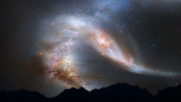 NASA captura imagen de 41 galaxias unidas en el espacio