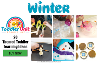 Toddler lesson plans - winter