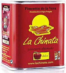 A tin of La Chinata sweet paprika