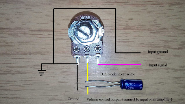 Speaker Volume Control Wiring Diagram