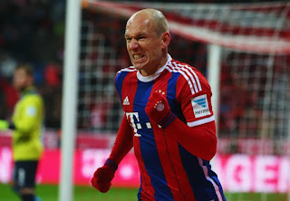 Sport: Champions League ! Money doesn't score goals – Robben mocks PSG