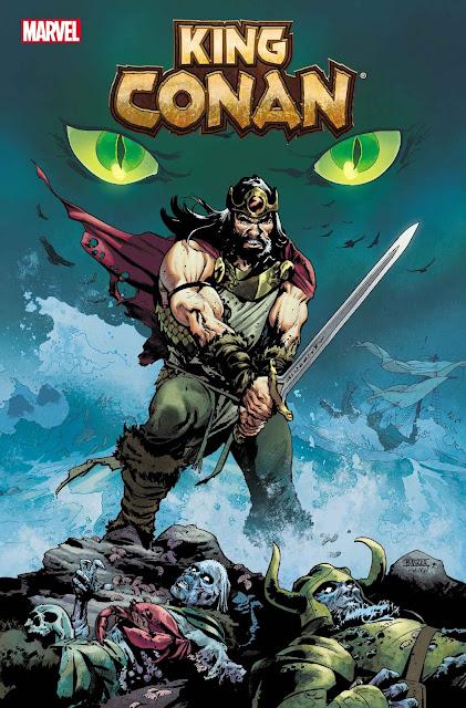 Marvel lanza la nueva serie 'King Conan' el 15 de diciembre de 2021.