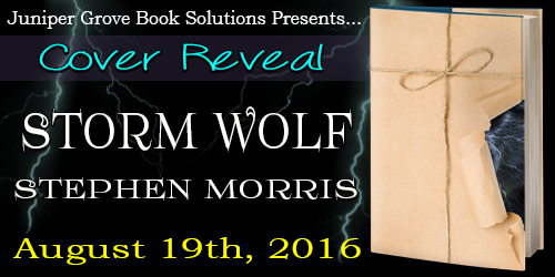 Storm Wolf by Stephen Morris Cover Reveal