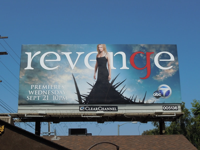 Revenge TV billboard