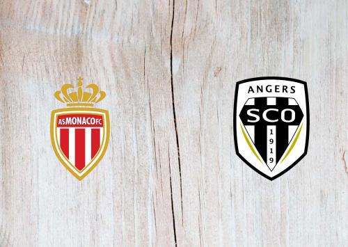 Monaco vs Angers SCO -Highlights 09 January 2021