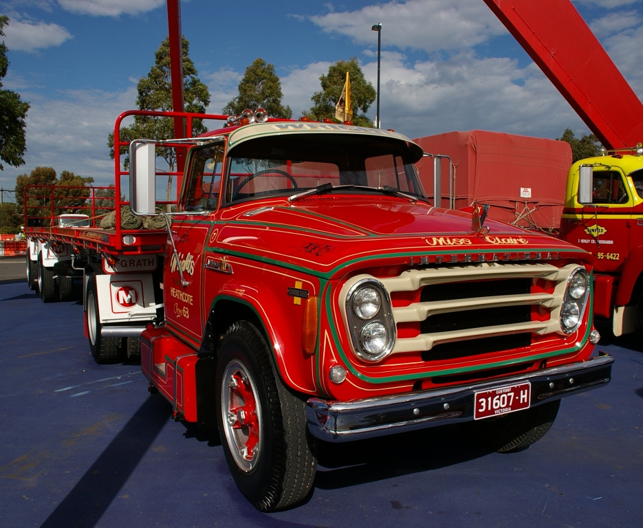 historic trucks  melbourne international truck and trailer show 2016