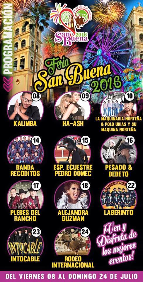Feria San Buena 2016 Feria De San BuenaVentura FERIAS DE