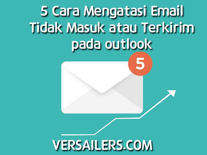 5 Cara Mengatasi Email Tidak Masuk Atau Terkirim Pada Outlook