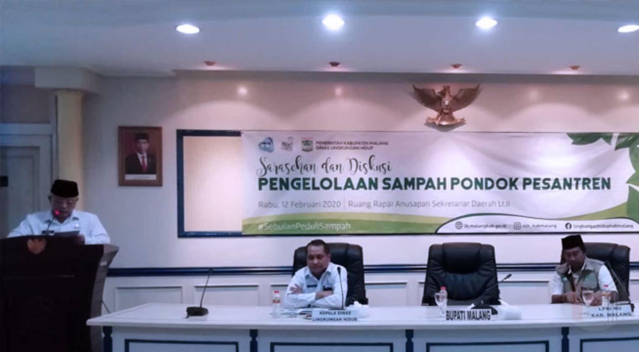 Bupati Malang Dorong Pondok Pesantren Mandiri Dalam Kelola Sampah