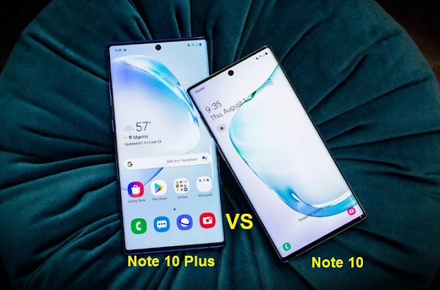 galaxy-note-10-vs-galaxy-note-10-plus-compear