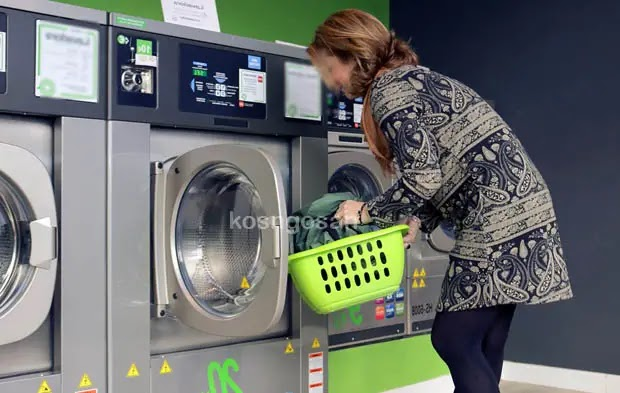 cara mencuci pakai mesin cuci