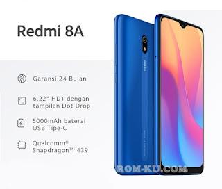 ROM MIUI 11 Xiaomi Redmi 8A (Olivelite)
