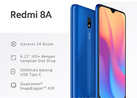 ROM MIUI 11 Xiaomi Redmi 8A (Olivelite) Indonesia / Global Stable