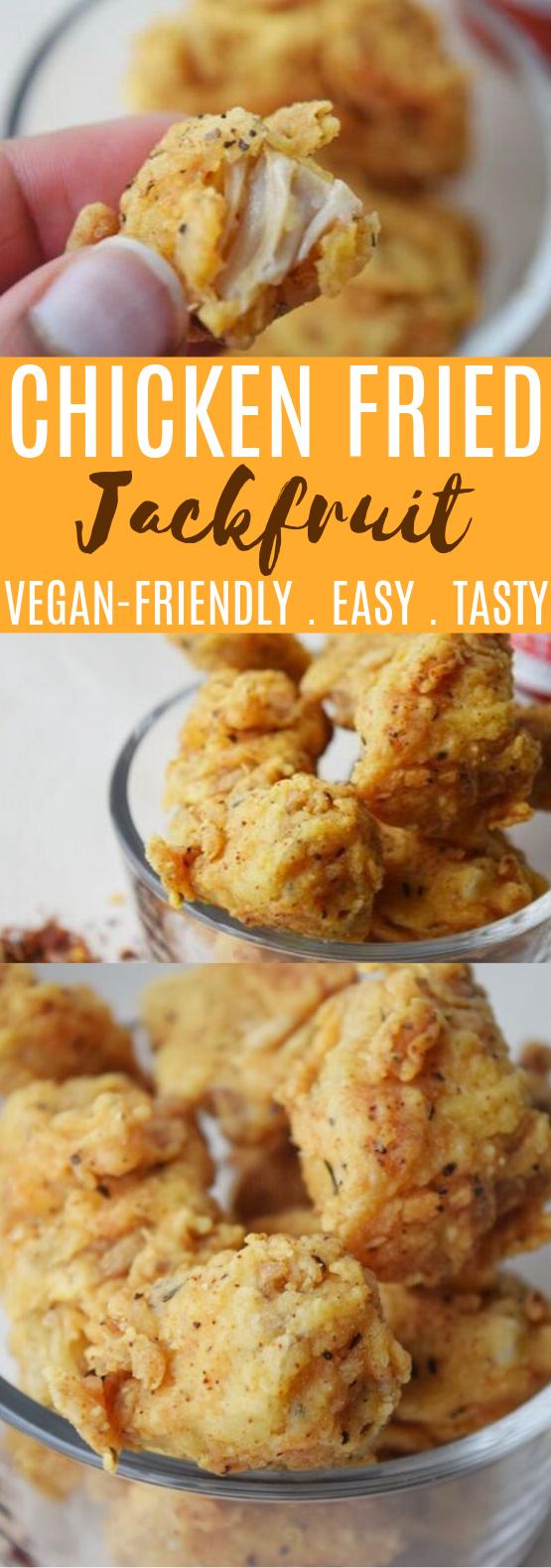 Chicken Fried Jackfruit #vegan #appetizers