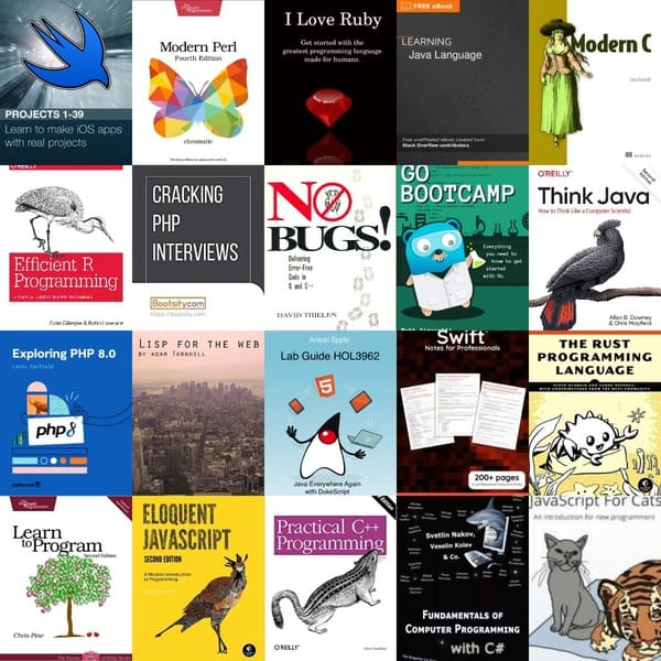 100+ Free Programming Books for 2021