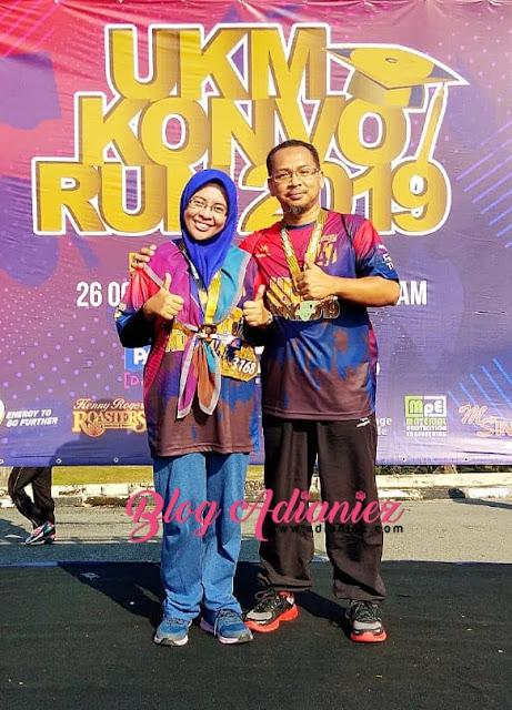 UKM Konvo Run 2019 | Berlari-lari anak keliling UKM kesayanganku :)