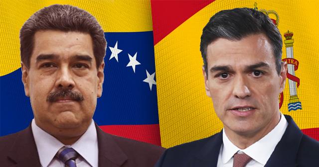 Maduro y Sánchez
