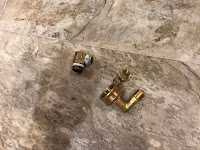 Two different adapters for two different dishwashers