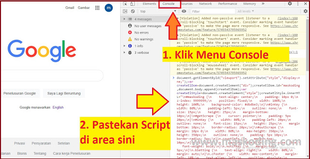 Mencari keyword utama dan keyword turunan LSI dengan Google Keywords Injector v.2