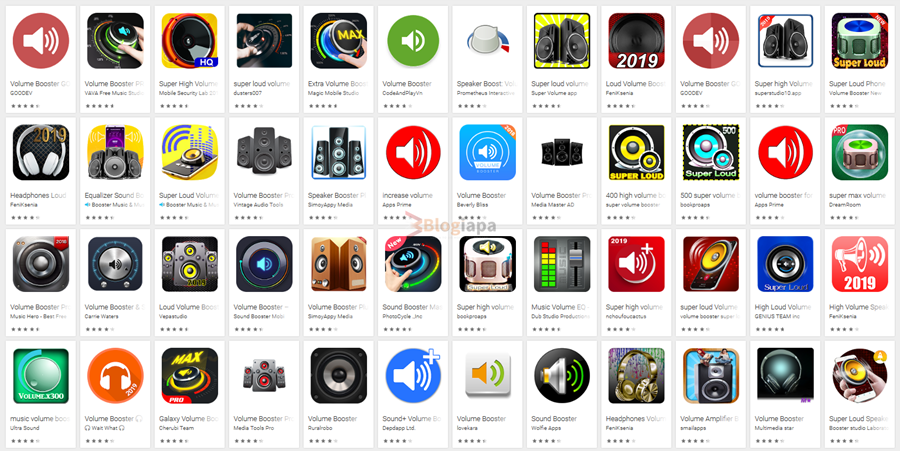 volume booster apps and sound booster apps for android