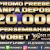 Promo Freebet Tanpa Deposit Persembahan Situs Bandar Judi Online Deposit Pulsa Tanpa Potongan LVOBet