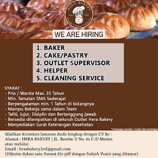5 Posisi di Hera Bakery