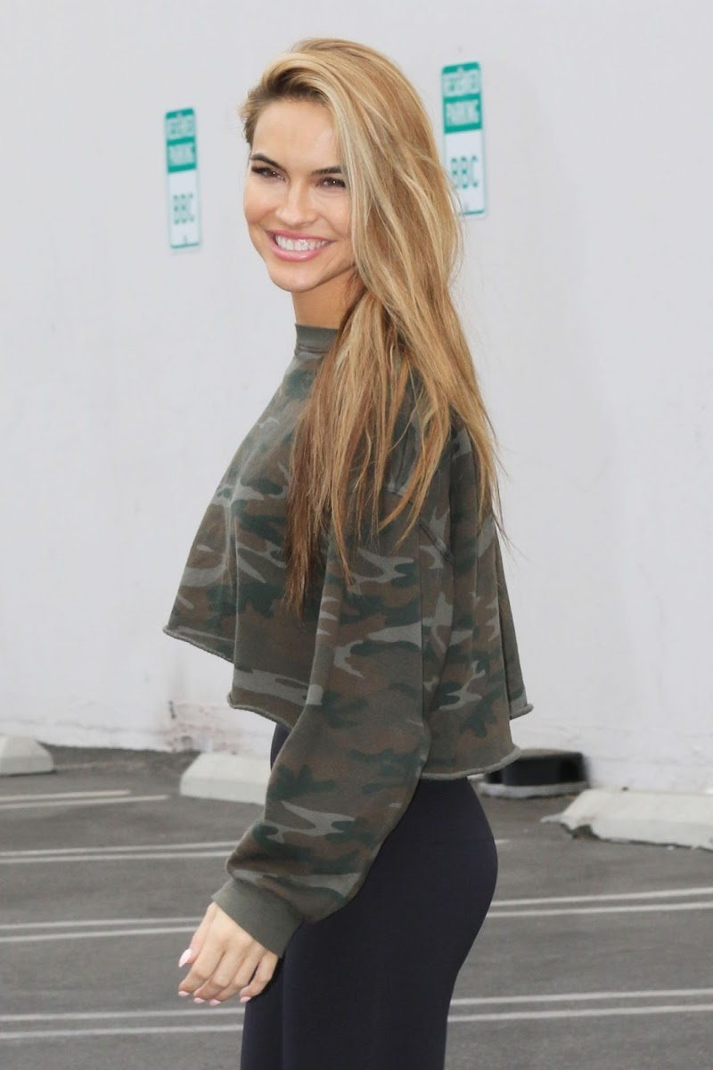 Chrishell Stause At DWTS Rehersal in Los Angeles 24 Oct -2020