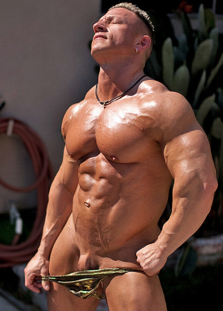 Nude bodybuilders men