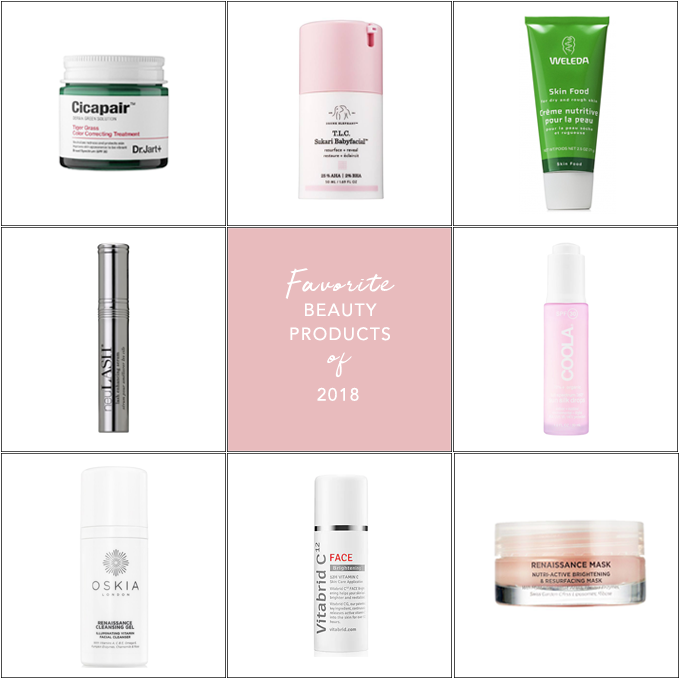 Favorite Beauty Products of 2018