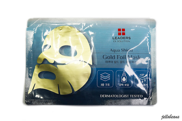 Leaders Aqua Shield Gold Foil Mask