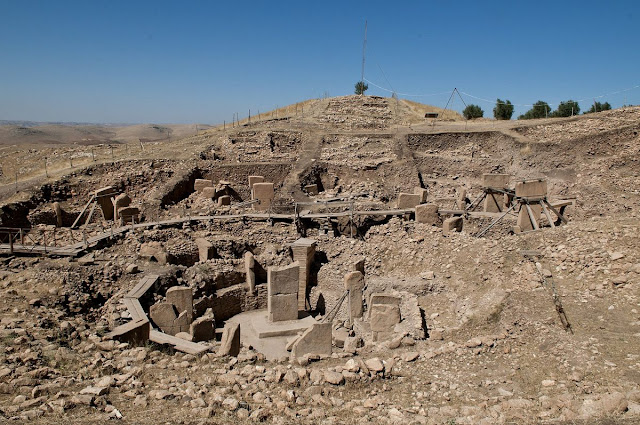 Geometry guided construction of Göbekli Tepe