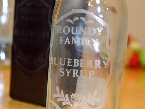 Cricut First timers How to Make a Glass Etched Syrup Bottle