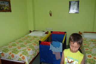 Nuestra habitación en el Hotel Nazar.