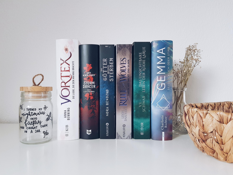 Bücherblog. Neuzugänge Bücher. Jugendbuch. Fantasy. Mai 2021.
