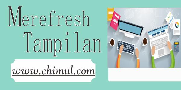 Desain Baru, Chimul, Ndyture, Tampilan, Logo, Domain